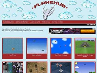Jeux de d'avion gratuit sur internet avec Planehub