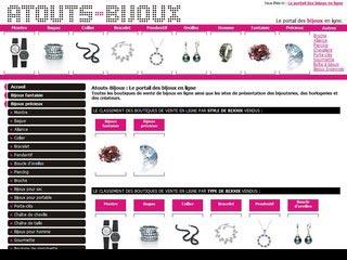 Atouts-Bijoux : Bijoux en diamant, perles, argent