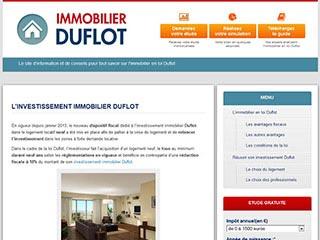 Immobilier Duflot : tout sur la loi Duflot