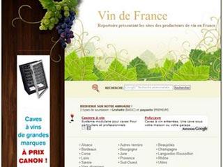 Vin de France, le répertoire des producteurs de vin