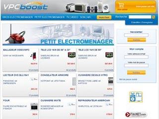 VpcBoost, l'électroménager à prix discount