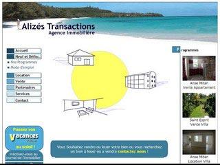 Alizés Transactions, agence immobilière Martinique