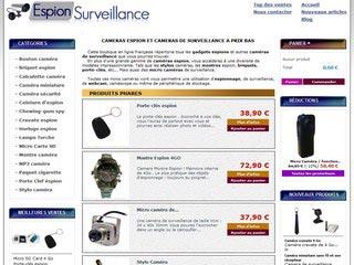 Espion surveillance, caméras espions et surveillance