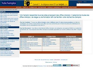 1clic1emploi : Emploi, stages, formation, jobs, concours