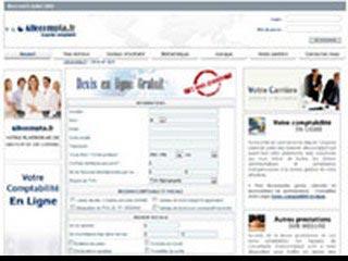 Allocompta, comptabilité sur internet