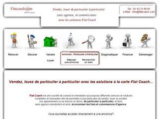 Flat Coach : Vendez, louez de particuliers à particuliers