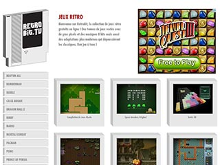 Retrobit.tv, le site des jeux retro en flash