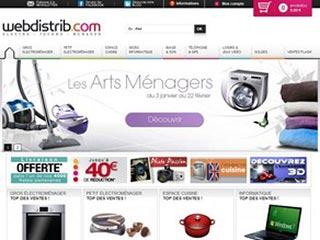 Webdistrib : Electroménager, informatique, télévision, hifi