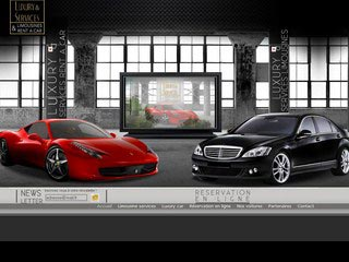 Luxury, location en ligne de voiture de Luxe