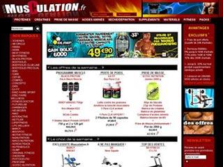 Musculation FR, matériels de musculation et de bodybuilding