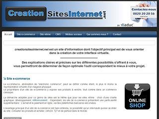 Conseils pour la création de site internet