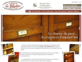 Fabricants de meubles français en chene et merisier