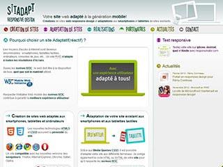 Sitadapt - Création de sites web responsive design
