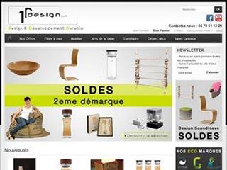 1rdesign, meubles et luminaires écologique