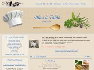 Bleu à Table, traiteur en région parisienne