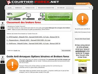 Courtier-Forex, la référence sur les brokers forex
