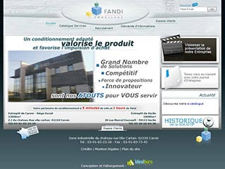 Fandi, emballage et conditionnement (Nord, Lille, Paris)