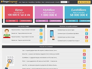 Tirage-Gagnant.com : site de loterie