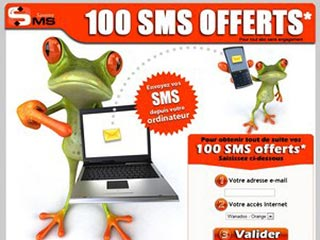 Savemysms: 100 sms offerts