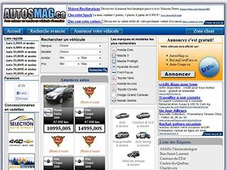 Liste des automobiles usagés à vendre dans tout le Québec