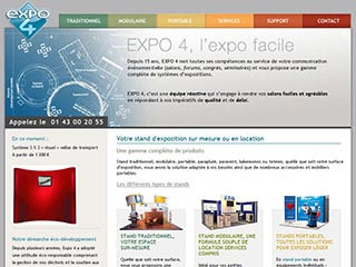 Expo 4, conception de stand sur mesure