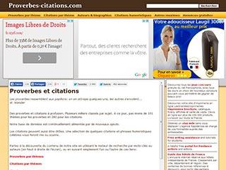 Citations et proverbes d'écrivains francophones