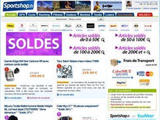 Sportshop : Votre magasin de sport sur Internet
