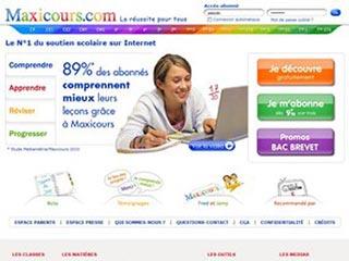 Maxicours : Soutien scolaire Math, Français, Anglais