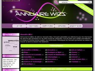 Annuaire Wizz, annuaire généraliste