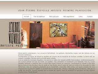 Jean-pierre Vieville, artiste peintre abstrait contemporain.