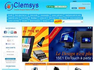 Clemsys, la caisse enregistreuse en ligne