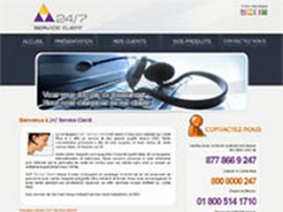 247 service client, call center