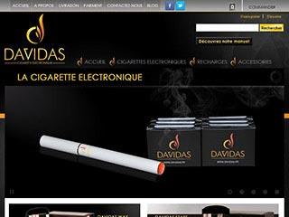 Davidas, vente de cigarette électronique