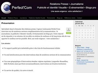Perfect'Com, agence conseil en relations presse