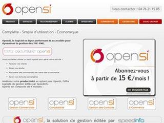 OpenSi, logiciel gestion commerciale et comptabilité