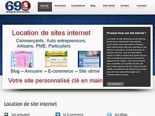 69S, location et création de site internet professionnel