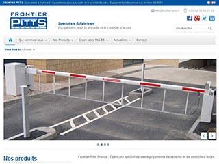 Frontier Pitts : Spécialiste et fabricant d'équipement de sécurité