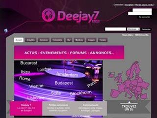 Deejay7 : communauté active de dj pro et dj amateur