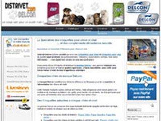 Distrivet-Delcon : Aliments pour chiens et chats
