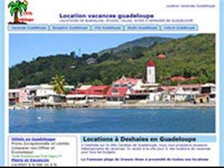 Vacances Guadeloupe, location à Deshaies