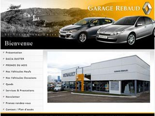 Garage Rebaud, concessionnaire Renault - Loire  42