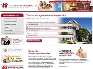 Réseau Agent Immobilier