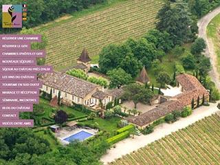 Location de chambres d'hôtes dans le Tarn – Château Touny les Roses