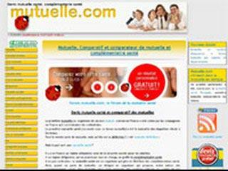 Mutuelle.com, comparateur de mutuelle