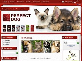 Perfect-Dog, alimentation pour chiens et chats