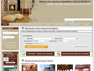 Annonces immobilieres  en France