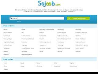 Sojoob, guide d'emploi et stage partout dans le monde