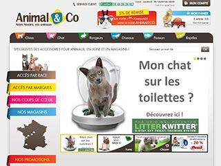 Animal and Co, produits pour animaux de compagnie