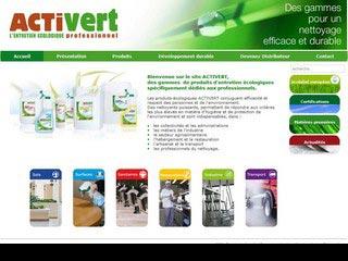 Activert : produits écologiques  nettoyage professionnel