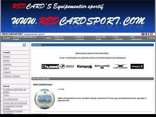 Redcardsport, tout pour le sport